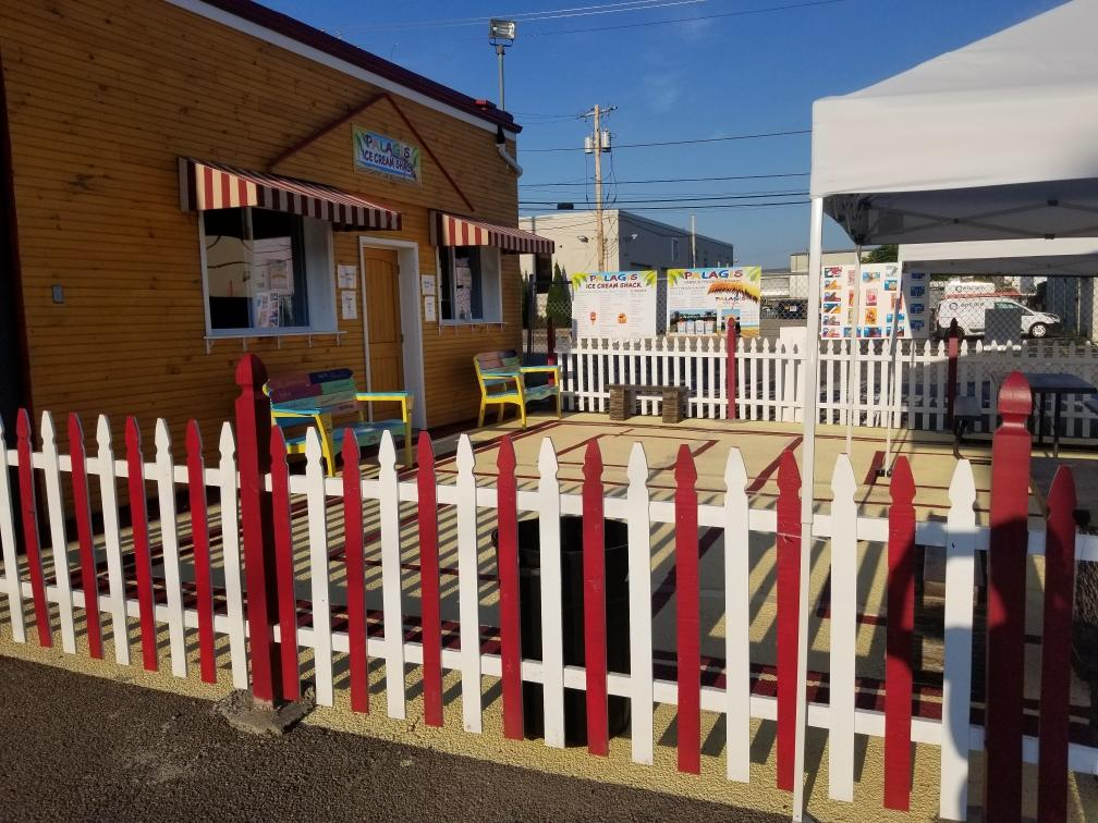 ice cream shack in rhode island